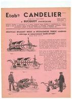 ETBts  CANDELIER à BUCQUOY (P D C ) BRABANT BISOC DECHAUMEUR TRISOC - Advertising