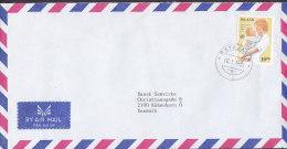 Iceland Airmail Par Avion REYKJAVIK 1989 Cover Brief WHO Nurse Krankenschwester M. Kind - 1944-... Repubblica