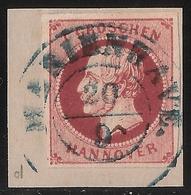Nr. 14 D I, Weinrot, Bfst., Mi. 110.- +   , #a843 - Hanover