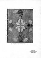 Reliure D'art De R. Kieffer à Paris - Similigravure Attinger Frères Neuchâtel Suisse ( Papier ~ 27 X 19 Cm) - Planches & Plans Techniques