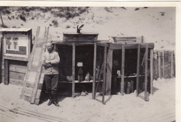 Photo 1916 Secteur LOMBARDSIJDE, WESTENDE - Stockage Des Obus Non Explosés (A196, Ww1, Wk 1) - Guerre 1914-18