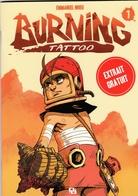 Dossier De Presse NHIEU Emmanuel Pour Burning Tattoo Ankama 2016 - Livres, BD, Revues