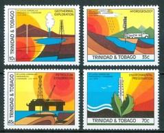 1979 Trinidad & Tobago Geologia Gèology Geologie Petrolio Petroleum MNH** Ab5 - Trinidad & Tobago (1962-...)