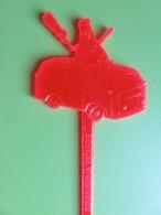 138 - Touilleur - Agitateur - Mélangeur à Boisson - Soda - Orangina Rouge - Swizzle Sticks