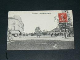 SANNOIS   1920 /     PLACE GARE    ......  EDITEUR - Sannois