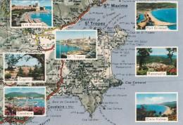 COTE D.AZURE - ST TROPEZ - Maps