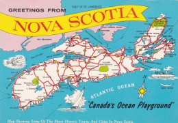 NOVA SCOTIA - Maps