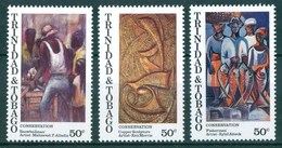 1995 Trinidad &Tobago Arte Set MNH** Ab7 - Trindad & Tobago (1962-...)