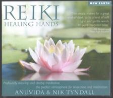 CD 5 TITRES REIKI HEALING HANDS ANUVIDA & NIK TYNDALL NEUF SOUS BLISTER & RARE - New Age