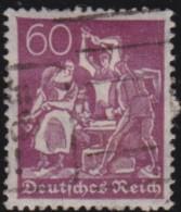 Deutsches Reich  .    Michel      .     184      .      O         .        Gebraucht  Mit Falz - Gebraucht