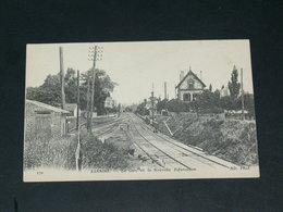 SANNOIS   1920 /    GARE   VOIES ......  EDITEUR - Sannois