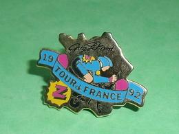 Pin's / Cyclisme , Vélo : 1992 Tour De France , Greg Lemond TB1X - Wielrennen