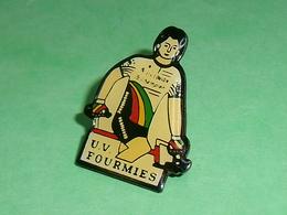 Pin's / Cyclisme , Vélo : UV Fourmies   TB1X - Wielrennen
