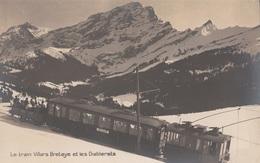 CARTE POSTALE DE SUISSE / VILLARS BRETAYE / LES DIABLERETS / CHEMIN DE FER / TRAIN - Suisse