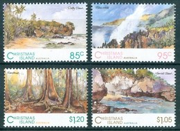 1993 Christmas Island Paesaggi Landscapes Paysages MNH** Ab10 - Christmas Island