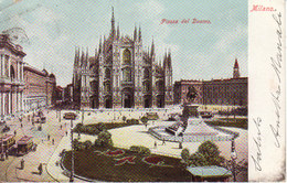 H 222  - Milan - Place Du Duomo - Piazza Del  Duomo - Milano (Milan)