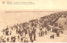 Ostende - Oostende - Vue Générale De La Digue Vers L'estacade - Oostende