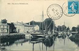 - Charente Maritime -ref-H266- La Tremblade - Le Port - Bateau Renard Marie - Bateaux - Carte Bon Etat - La Tremblade