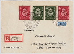 Nr. 121-22, Portogerecht, Mi. 255.-    , #a850 - Cartas