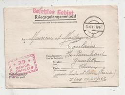 Correspondance Des Prisonniers De Guerre , Allemagne , Kriegsgefangenenpost ,1941 , Stalag IX B , 2 Scans - Allemagne