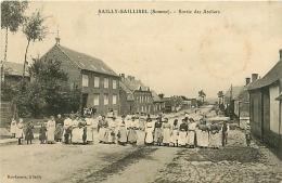 Sailly-Saillisel. Sortei Des Ateliers & Rue Entre Deux Villes    2  Cartes - Autres Communes