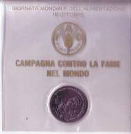 FAO ROMA 1989 MEDAGLIA CIPOLLA - Gettoni E Medaglie