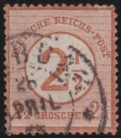 Deutsches  Reich    .   Michei    .      29            .         O             .       Gebraucht - Oblitérés