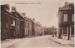 CARTE POSTALE   SAINS RICHAUMONT 02  La Rue De L'église - France