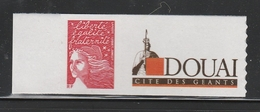 3729 A TVP LUQUET ROUGE GRANDE VIGNETTE - Personalized Stamps