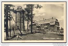 Auersberg Mit Turm - HO Wismut - Berghotel Auersberg - Auersberg