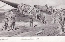 DEUX MORTIERS ALLEMANDS DE 350 M/M - Matériel