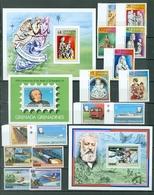Grenada Grenadines Christmas Rowland Hill Jules Verne Set Souvenir Sheet Block MNH WYSIWYG 1979 A04s - Grenada (1974-...)