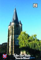 Carte Postale, églises, Churches In Belgium (Hainaut), Frasnes-lez-Buissenal, Église Saint-Martin - Kirchen U. Kathedralen