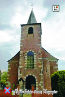 Carte Postale, églises, Churches In Belgium (Hainaut), Herquegies, Église Sainte-Anne - Kirchen U. Kathedralen