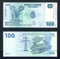 CONGO DR  -  2013  100 Francs  UNC Banknote - Congo