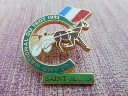 A004 -- Pin's Grand National Du Trot 1992 - Saint Malo - Badges