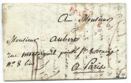 MP 72 PONTOISE POUR PARIS / 1810 - 1801-1848: Précurseurs XIX