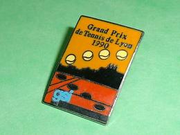 Pin's / Tennis : Grand Prix De Lyon 1990   TB1Y - Tennis