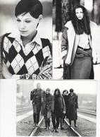 Lot 8 CPM 12X17 . MODE .  Pub Vêtements SISLEY Elégance . Photos Harry De Zitter - Mode