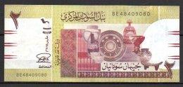 Soudan Billet De 2 Pounds 2015 BE484 - Soudan