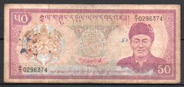 Bhoutan Billet De 50ngultrum FI029 - Bhoutan