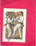 ILLUSTRATEUR TREBLA - CPA COLORISEE -  PAYS BASQUE - Danseurs Basques  - BORD** - - Other Illustrators