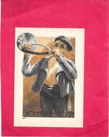 ILLUSTRATEUR TREBLA - CPA COLORISEE - BEARN BIGORRE - Sonneur De Trompe  - BORD** - - Künstlerkarten