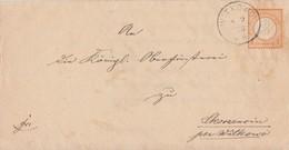 DR Brief Minr.18 K1 Witkowo 8.9.73 - Deutschland