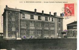N°64081 -cpa Montesson Laborde -groupe Scolaire Ferdinand Buisson- - Montesson