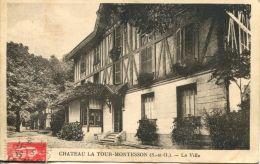N°64083 -cpa Château La Tour Montesson -la Villa- - Montesson