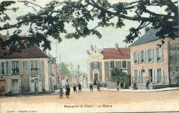 N°64086 -cpa Neauphle Le Vieux -la Mairie- - Neauphle Le Chateau