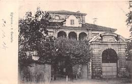 """0197 """"(TORINO) OGLIANICO - IL CASTELLO""""  CART SPED 1908 - Andere Steden"""