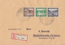 DR R-Brief Mif Minr.634,636,641 SST Nürnberg - Germany