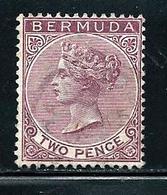"Bermuda    ""Queen Victoria""         SC#  21   Used - Bermudes"